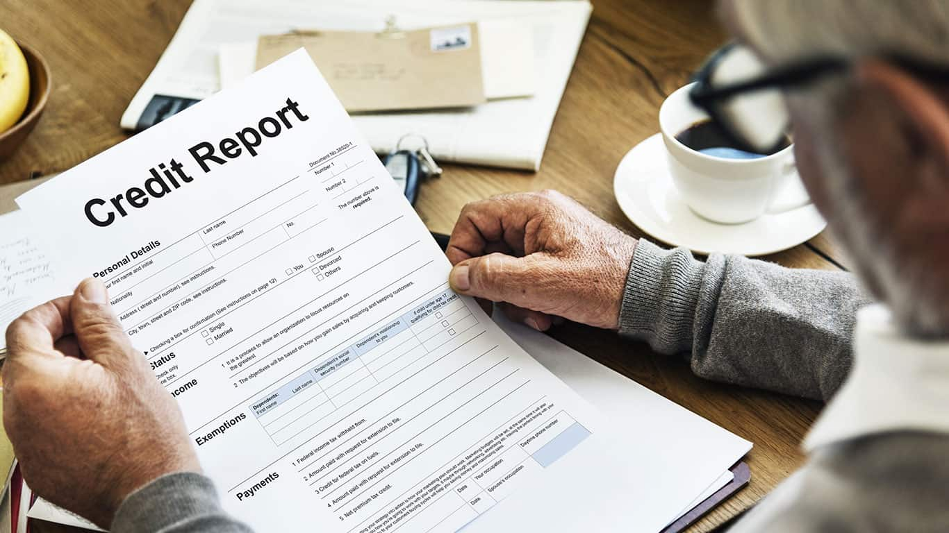 Not reviewing your credit report