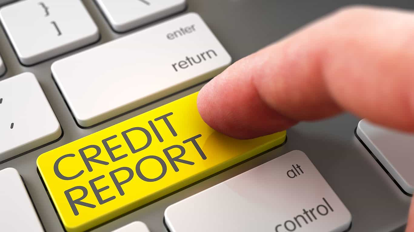Your credit report isn't updated