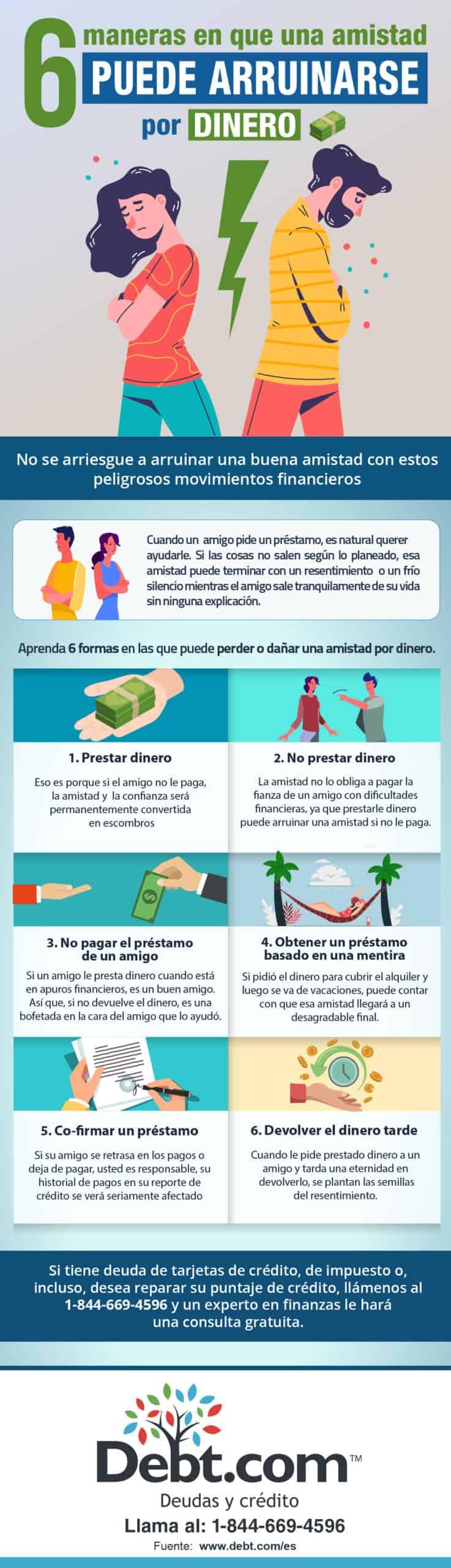 amistad y dinero