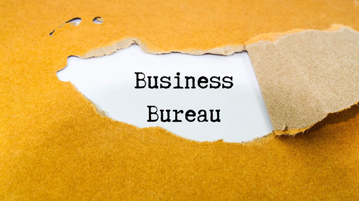 Check with the Better Business Bureau