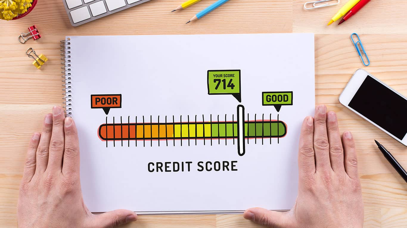 Work on improving your credit score