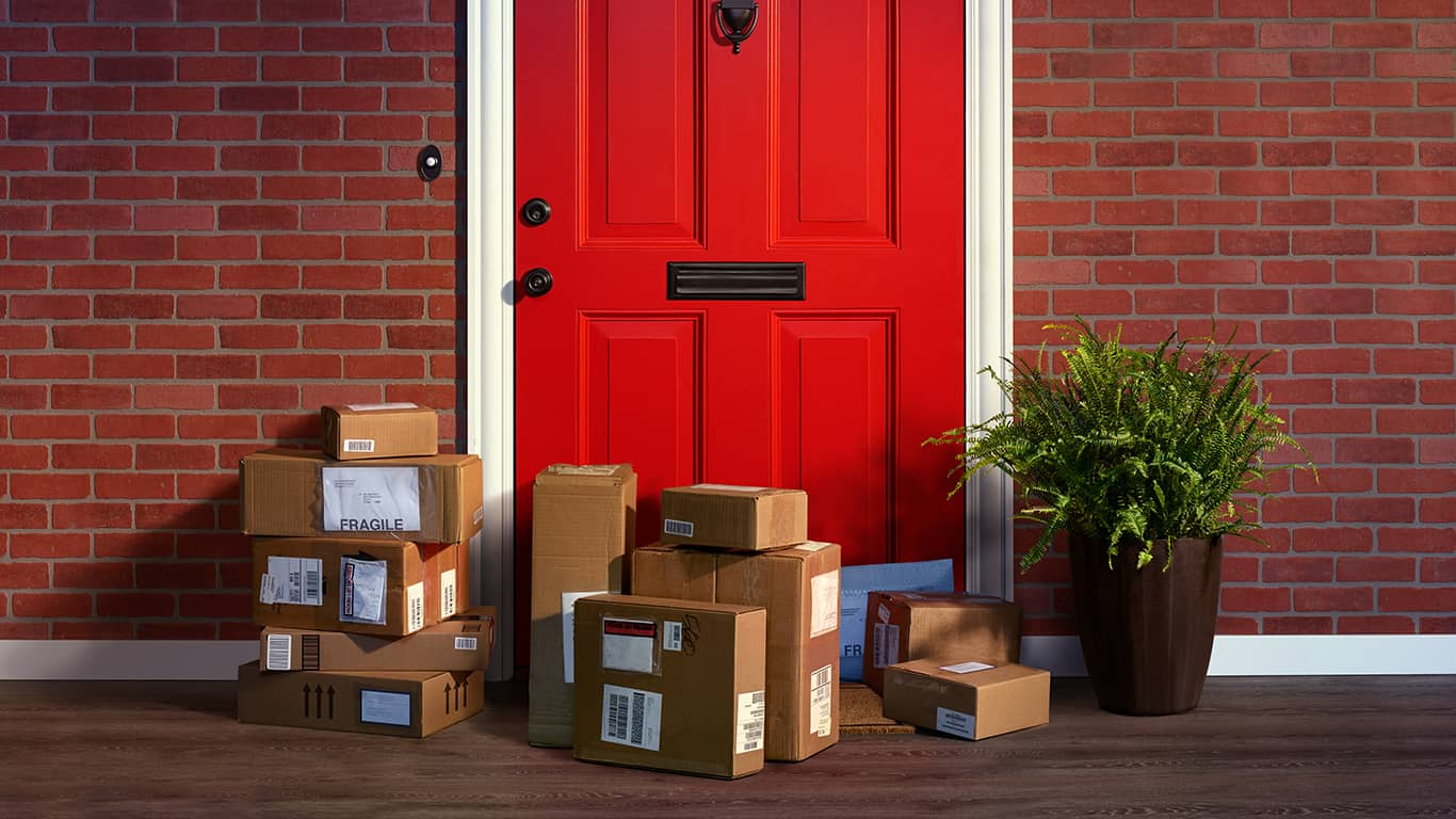 New Survey Finds Porch Pirates Hauling Off a Huge Bounty in 2020