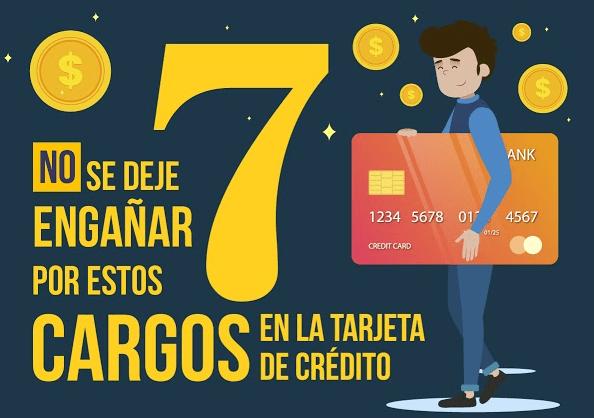 cargo de tarjetas de crédito