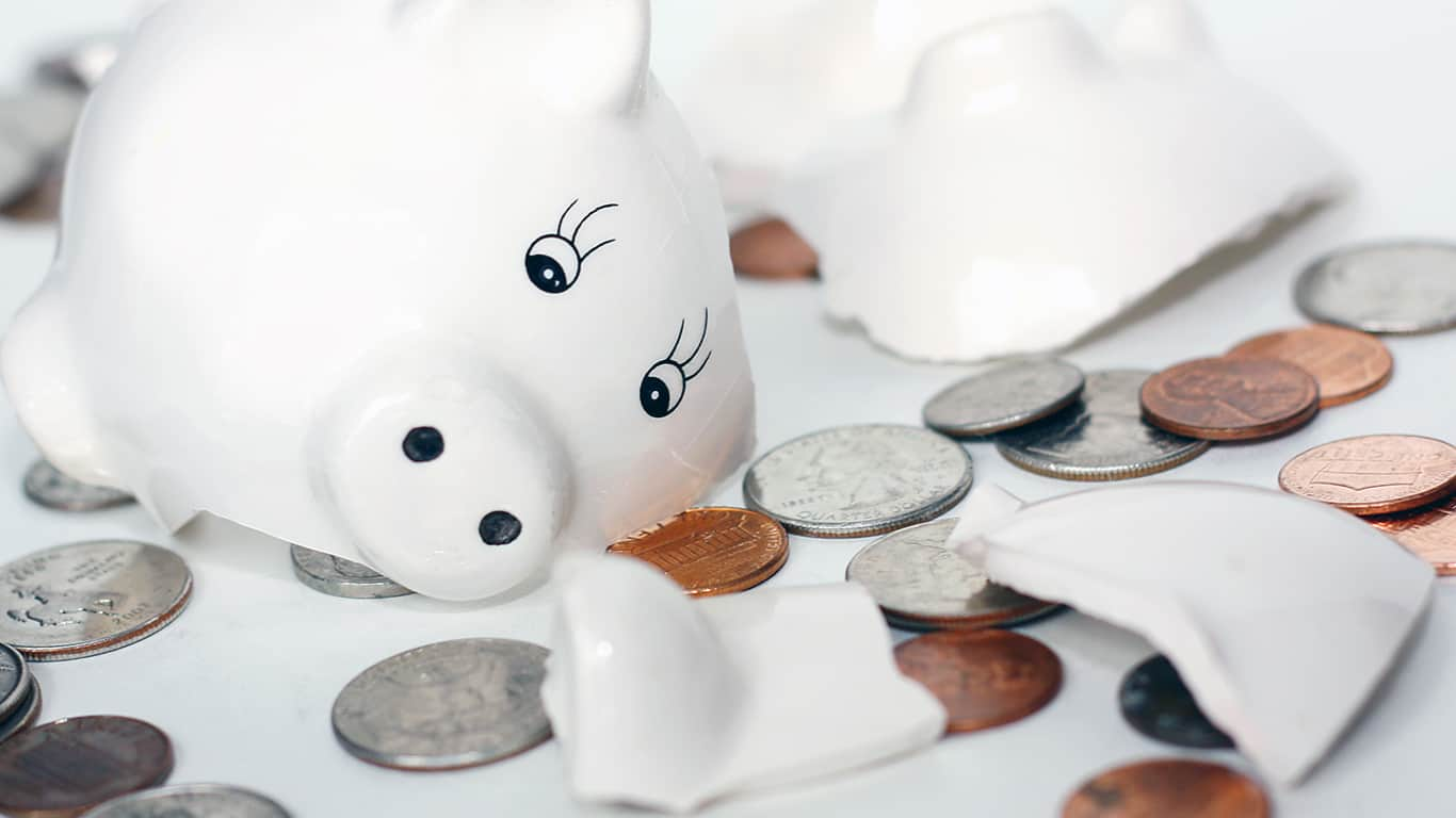 COVID-19 took a toll on savings