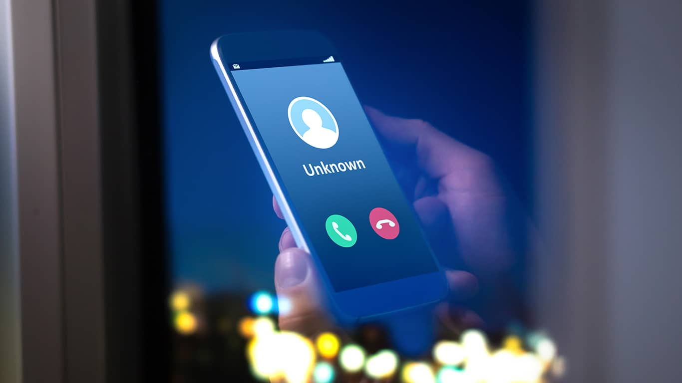 Unsolicited phone calls