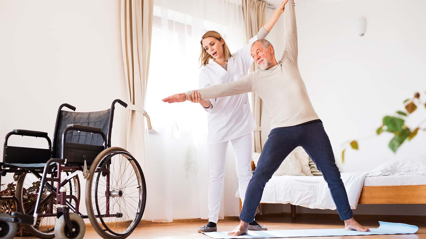 Medicare pays for long-term in-home care