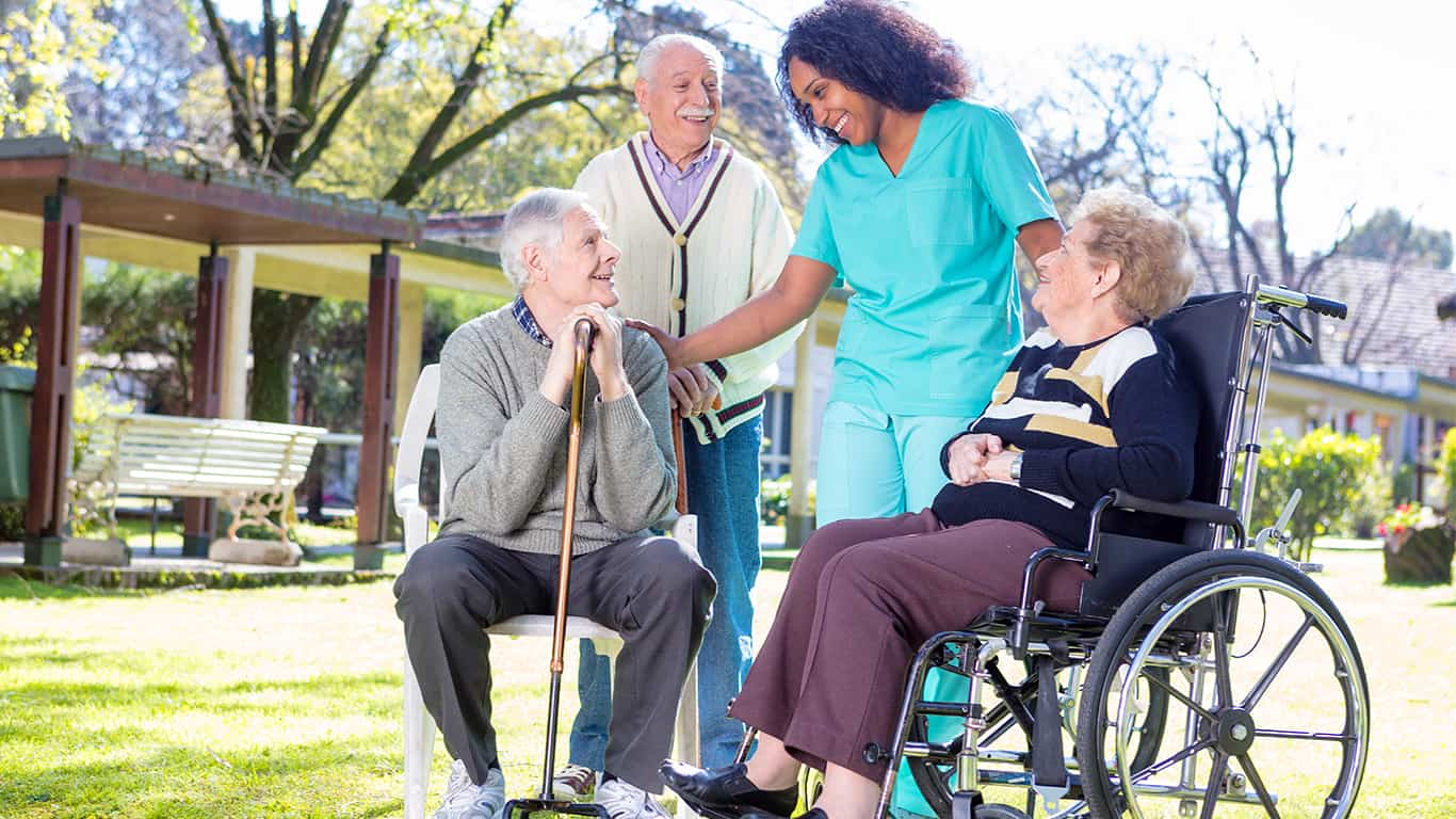 Medicare pays for long-term nursing home costs