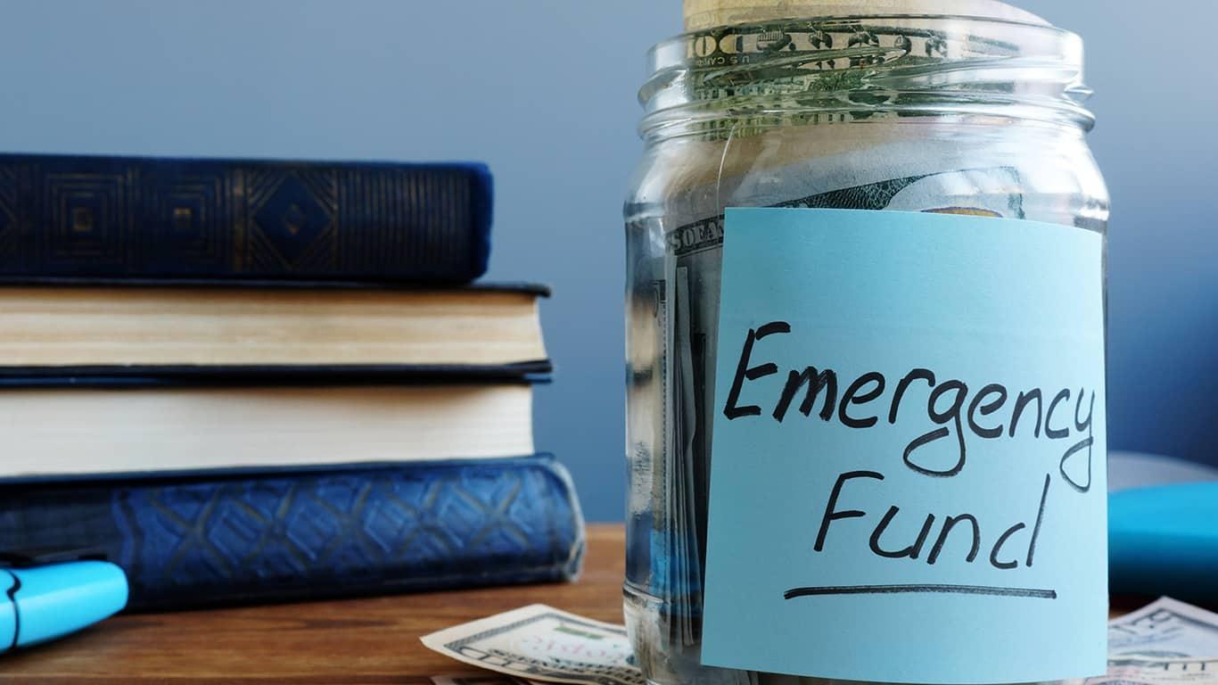 Build emergency savings