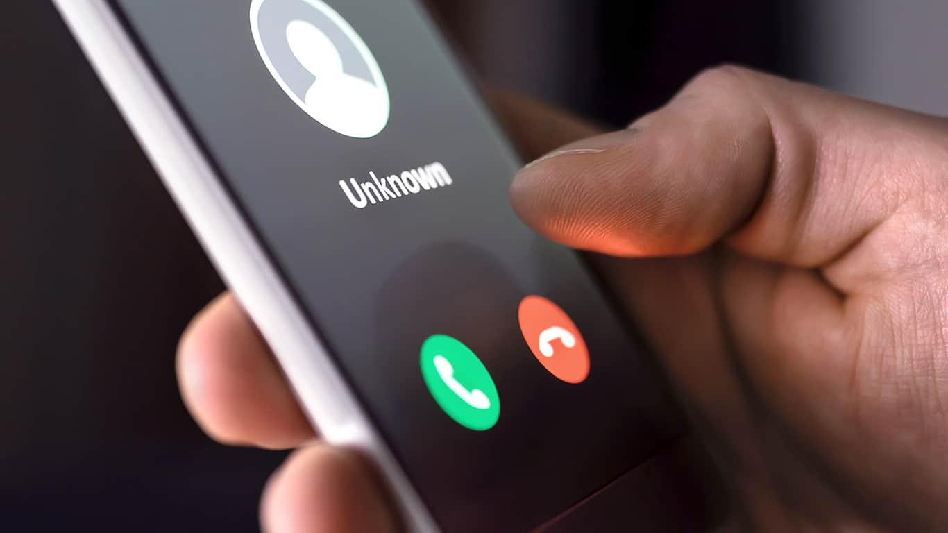 Don't respond to fake phone calls or texts