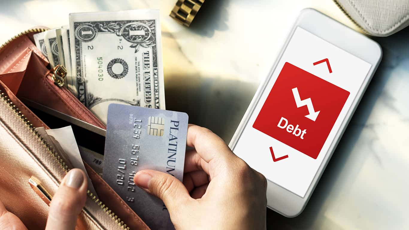 Pay down credit card debt