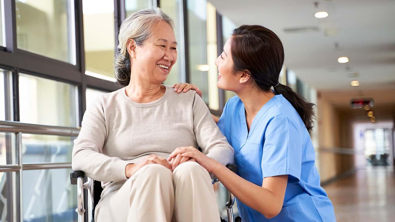 Run background checks on caregivers