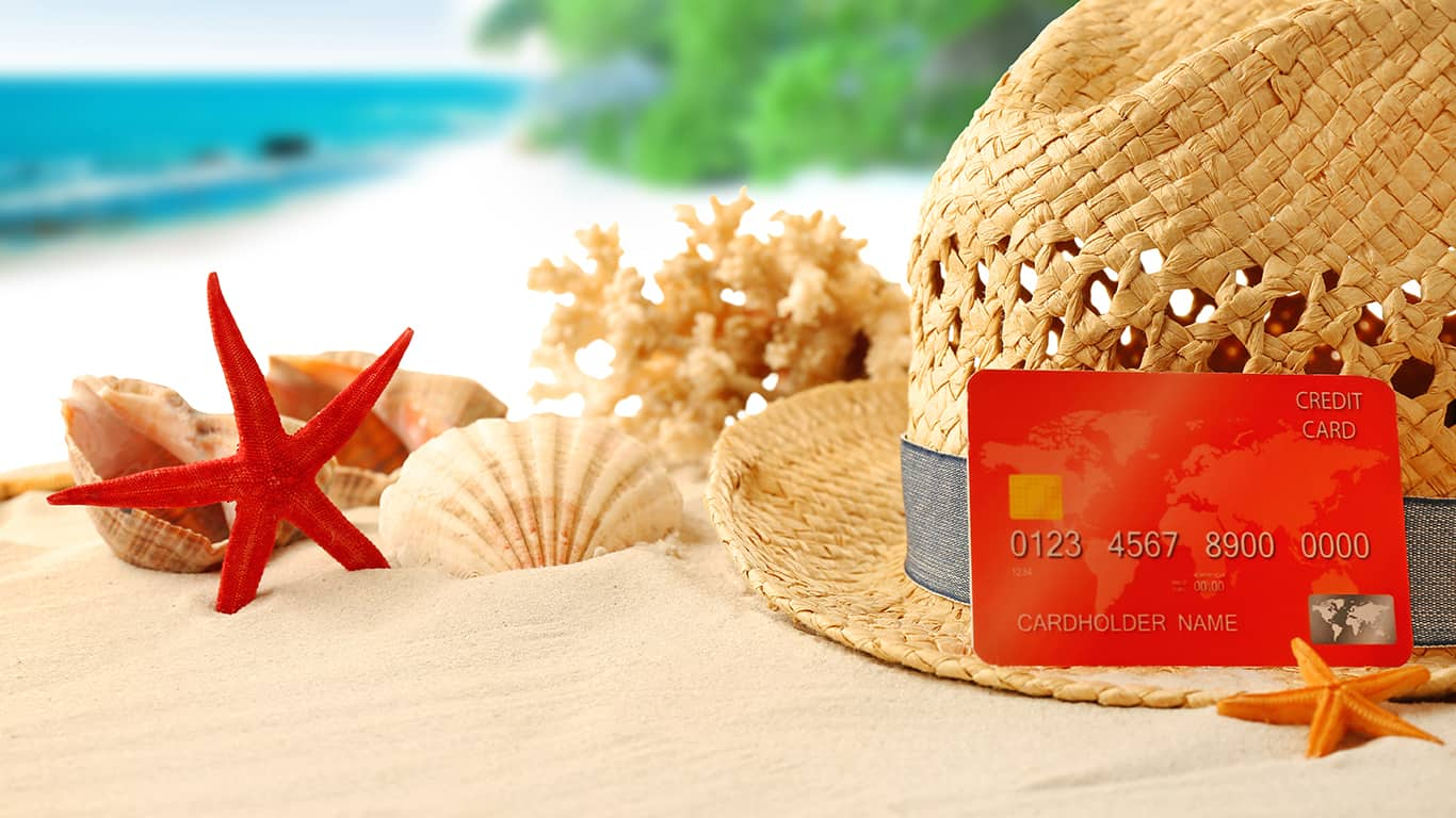 You pay for vacations with credit