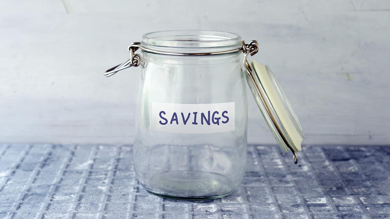 You have no emergency savings