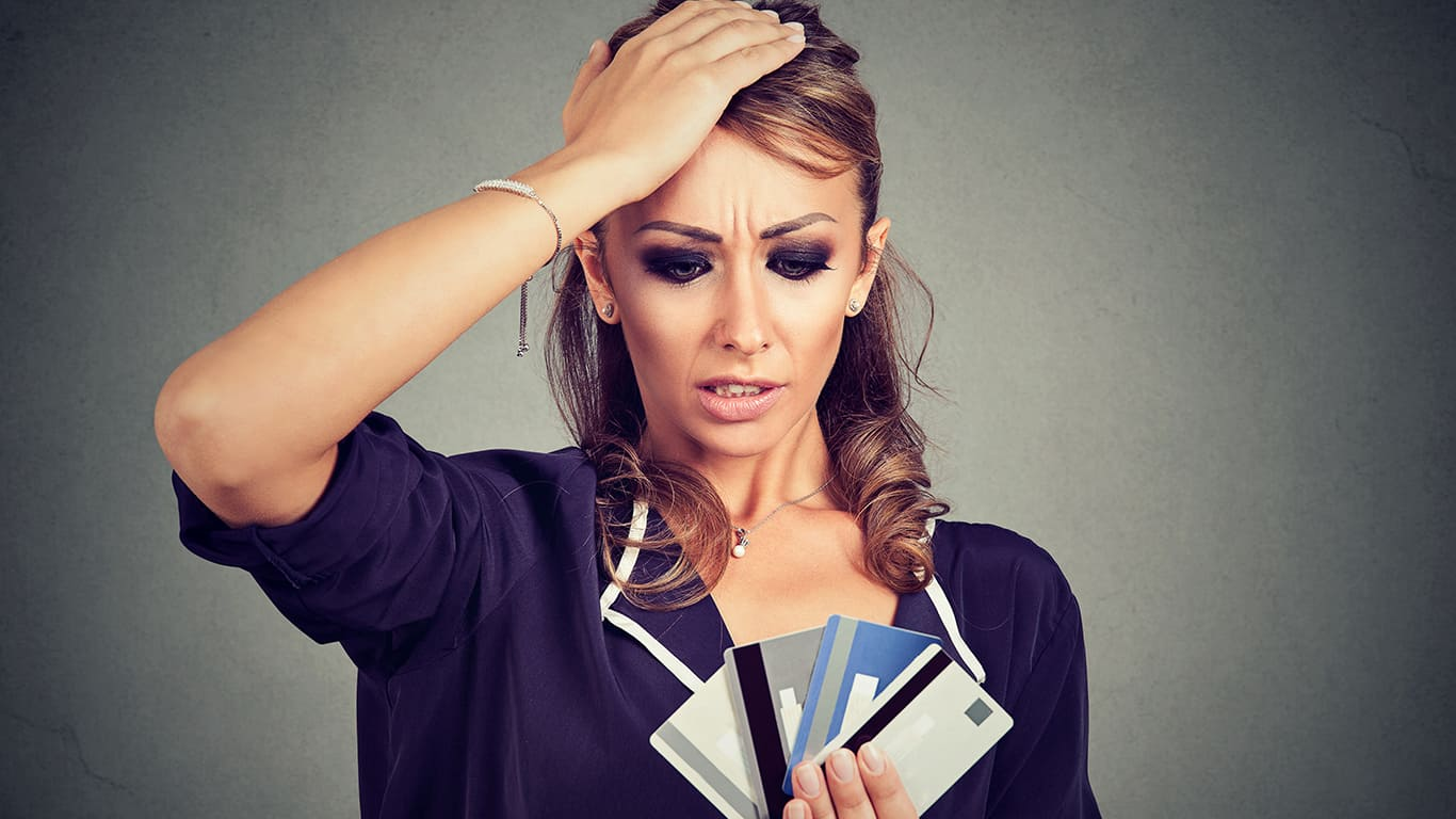 You already owe a ton of credit card debt