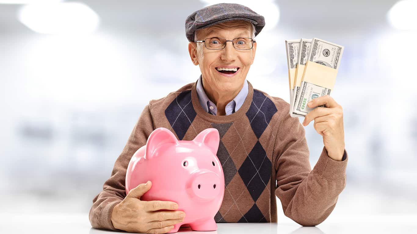 There's no one else to blow through your savings