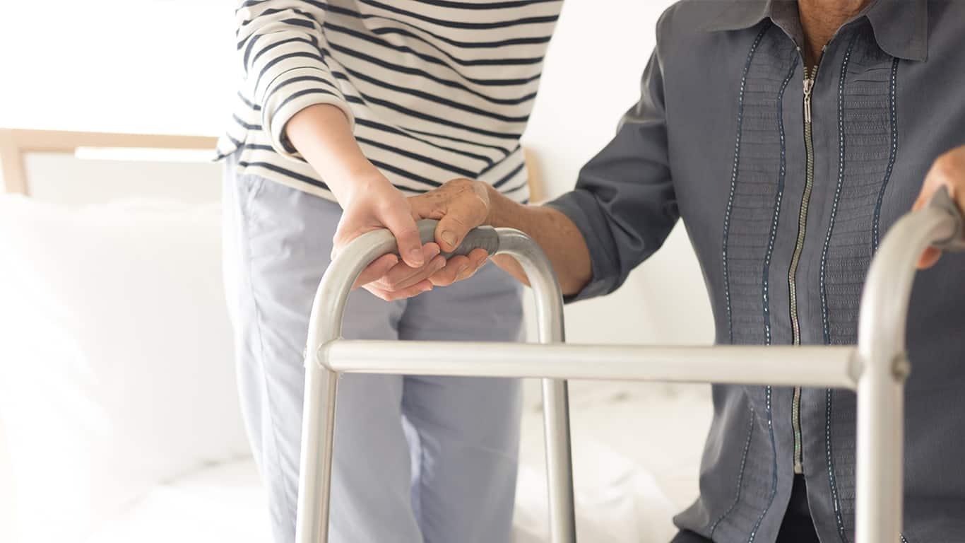 No caregiving responsibilities for a spouse's parent