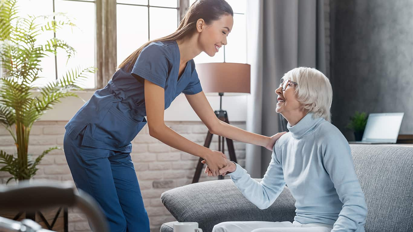 Hire caregivers