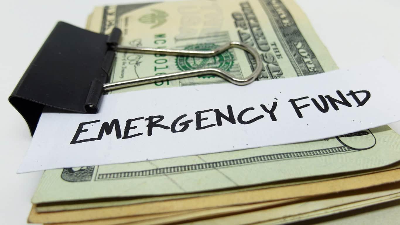 You can build emergency savings