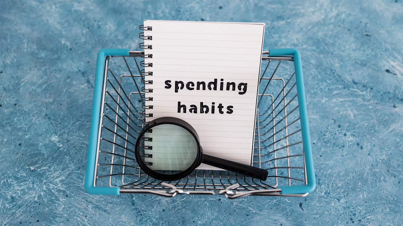 You may permanently change small spending habits