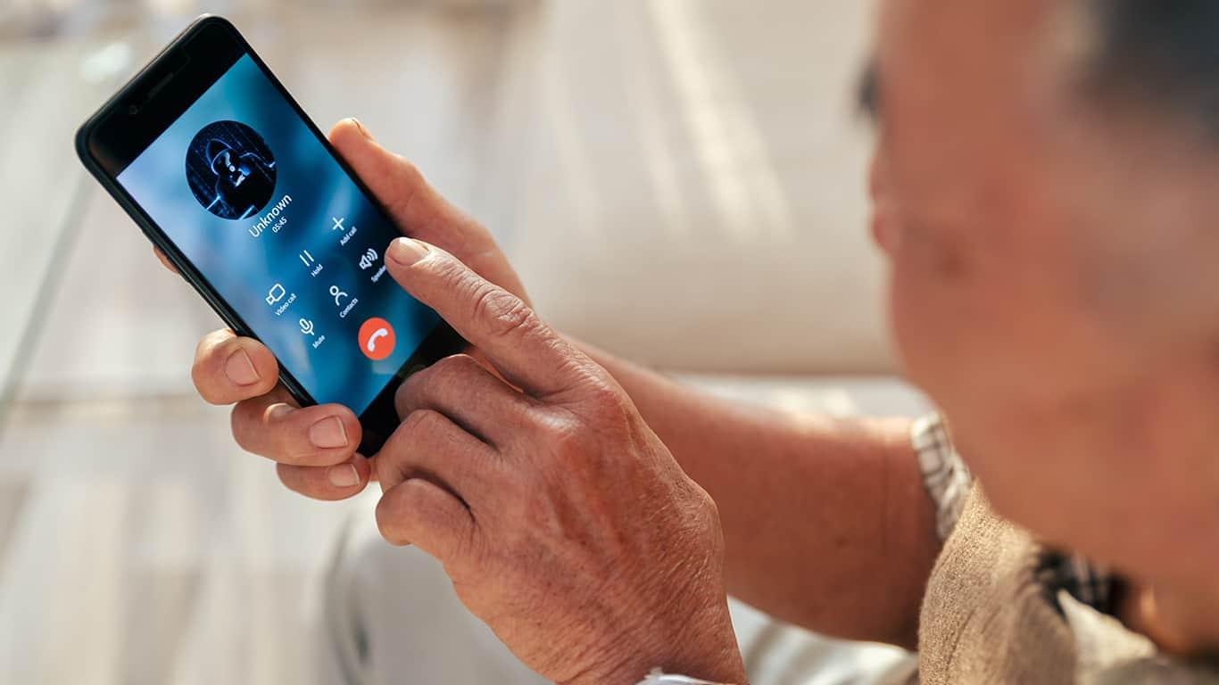 Phone fraud imposters