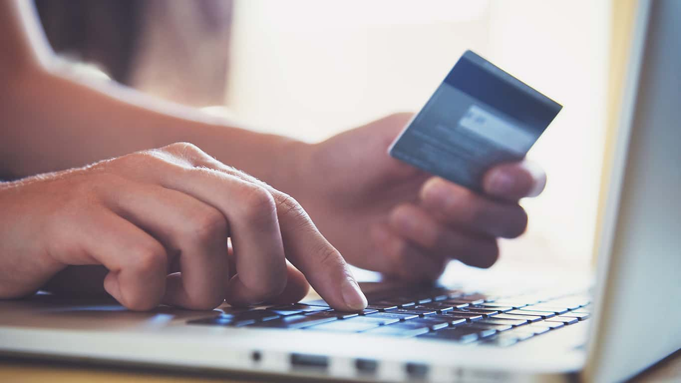 Pay most expenses with a credit card
