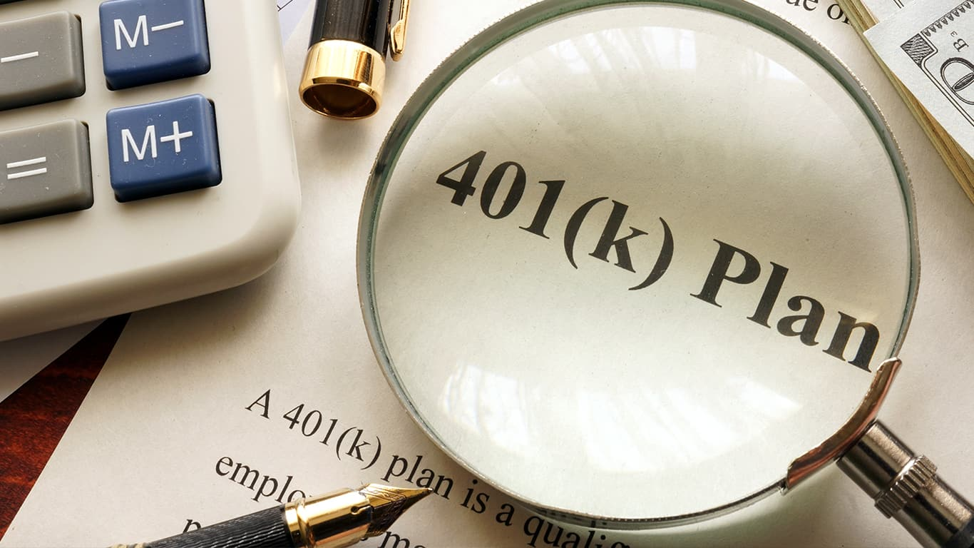 You're not enrolled in your employer's 401(k) plan