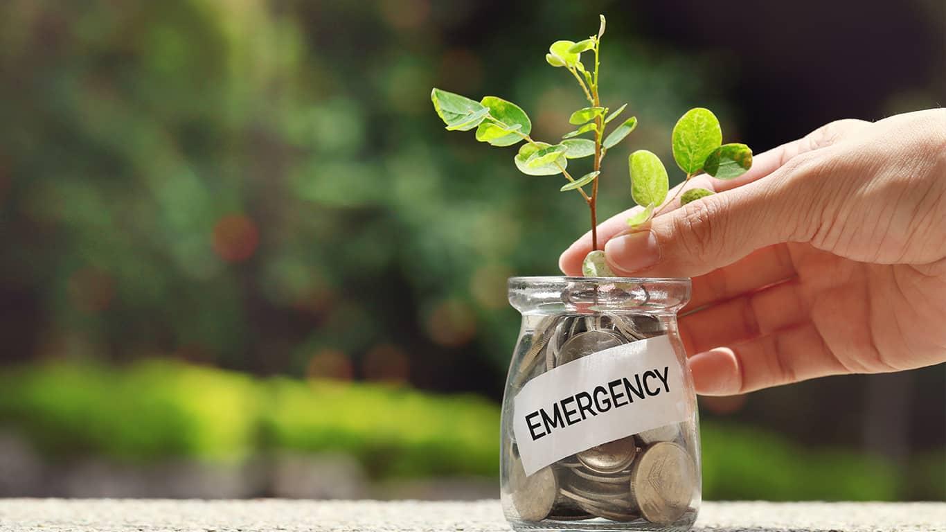 Start an emergency fund