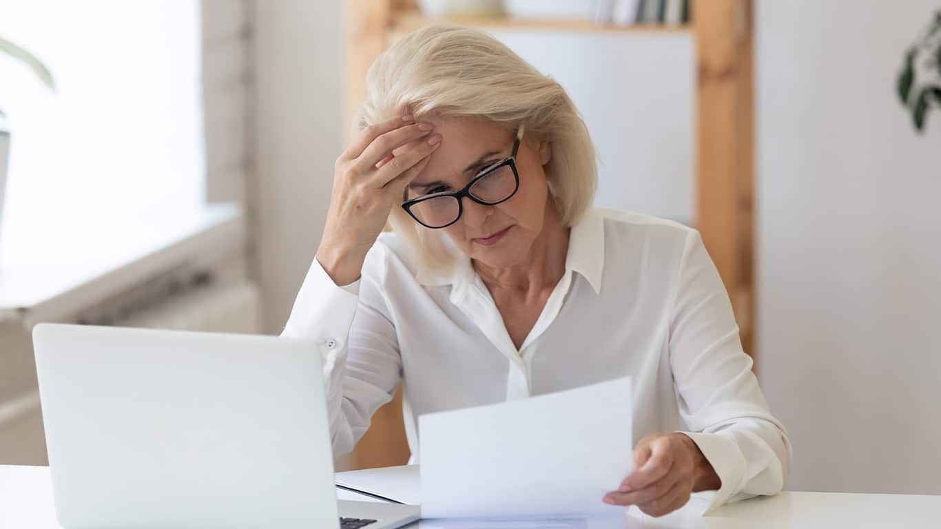 Too much debt can lower your credit score