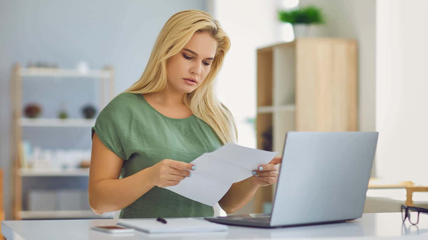 Review bank and credit card statements