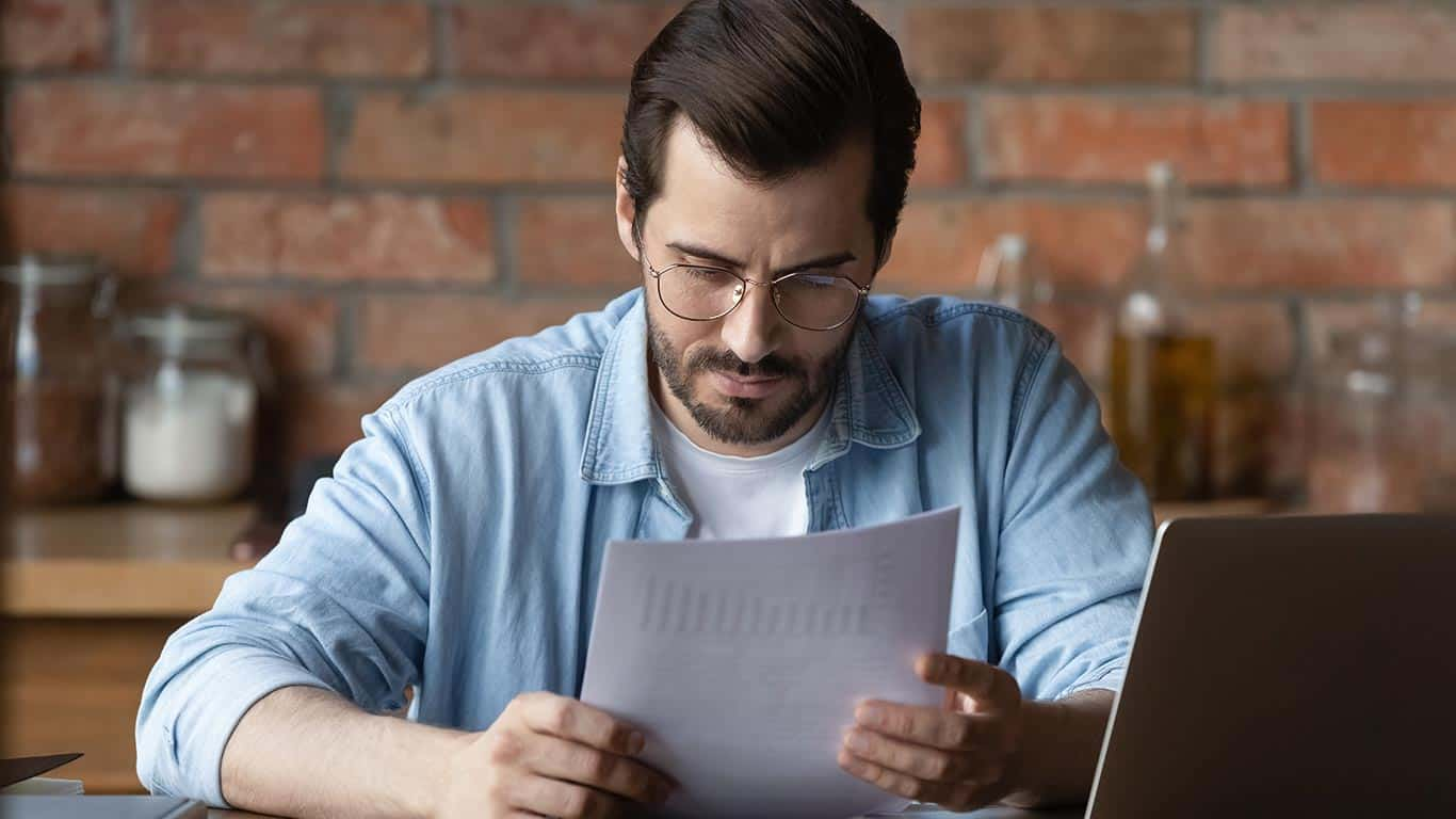 Review credit reports regularly