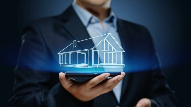 Property Management Real Estate Mortgage Rent Buy concept